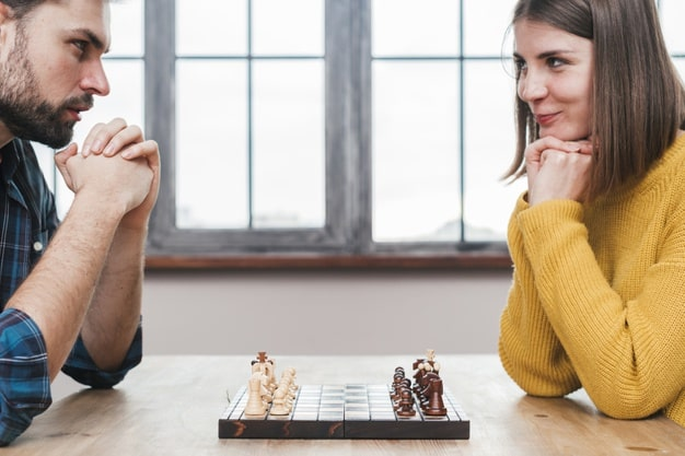Sakkjátszmában magabiztosság